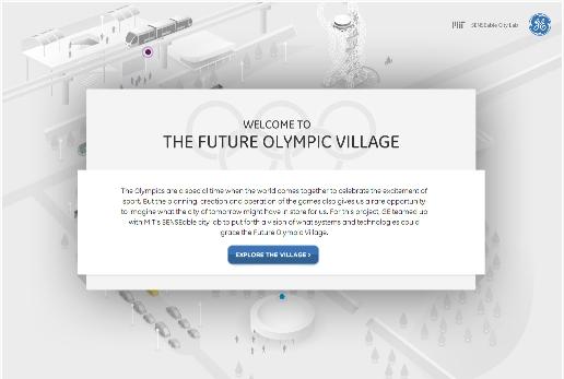 La Villa Olímpica del Futuro / Foto: Captura de pantalla del sitio del Instituto de Tecnología de Massachusetts (MIT).