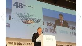 """Luis """"Lula"""" da Silva en el 48º Coloquio Anual de IDEA  / Fotos: Idea"""