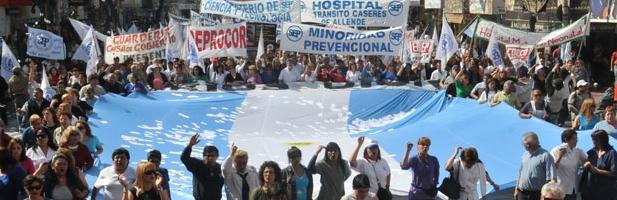 El empleo público logró disimular la caída en el sector privado. ¿Cristina Kirchner incorporará otros 10 mil agentes antes de irse? | Foto: archivo Turello.com.ar