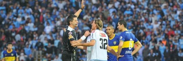 Maglio rechaza las protestas de los jugadores de Belgrano / Foto: www.mundod.lavoz.com.ar