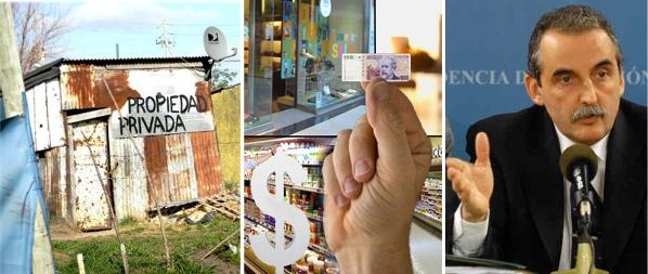 Un combinación explosiva: inflación, pobreza, resentimiento social, odio / Foto: archivo www.turello.com.ar