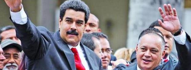 """Maduro festeja la creación de un organismo burocrático para la """"felicidad"""" / Foto: archivo www.turello.com.ar"""