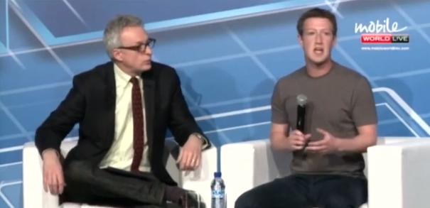 Mark Zuckerberg responde a la prensa / Crédito: Captura pantalla de Youtube.