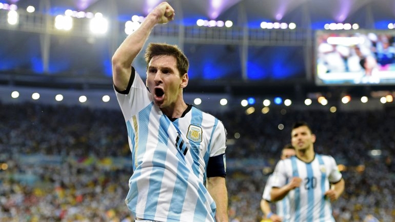 Messi descarga su bronca tras una genialidad para el 2-1 ante Bosnia | Crédito: www.infobae.com