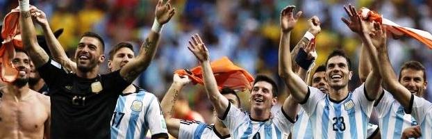 Argentina festeja el pase a Semifinales: rompió un maleficio de 24 años | Fuente: www.elcivico.com