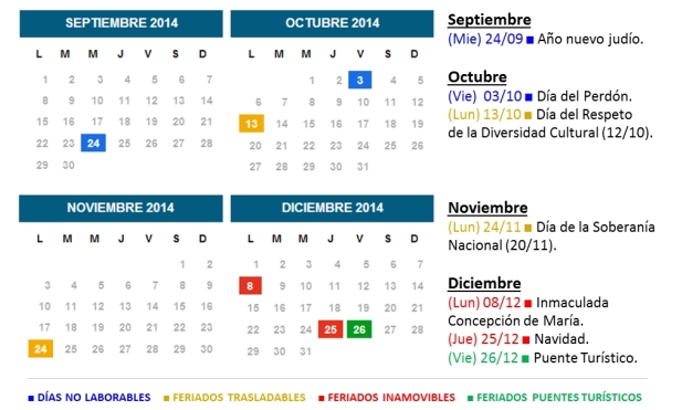 Search results for calendario escolar argentina 2015 for Calendario 2015 ministerio del interior