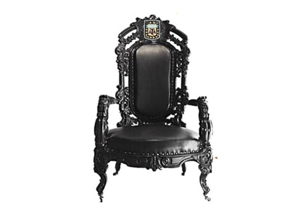 ¿Quién se sentará en el sillón de presidente de la AFA en 2015? | Imagen editada digitalmente de Cancha Llena.