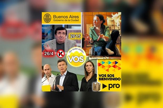 Durán Barba, en el recuadro superior izquierdo, con marcada influencia en las decisiones del PRO | Imagen archivo Turello.com.ar