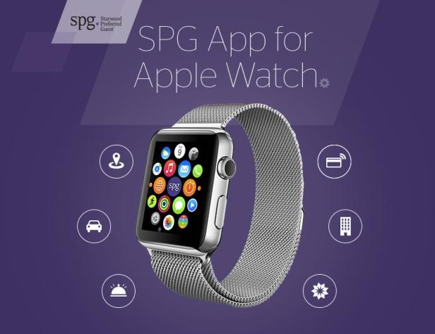 Aplicación SPG para Apple Watch