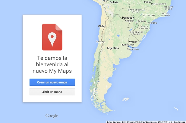 My Maps de Google