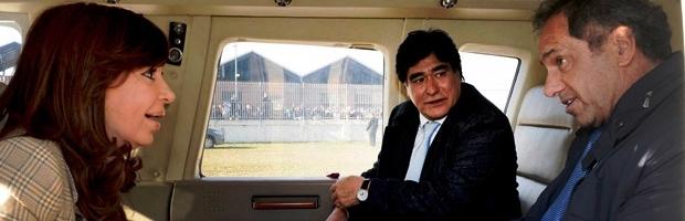 Cristina Kirchner lo eligió a Scioli y le impuso a Zannini, pero la propuesta no tuvo eco electoral | Foto: archivo Turello.com.ar