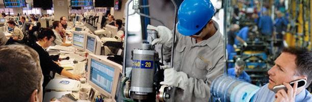 Mejores perspectivas en bancos y comercios; la industria manufacturera es la más castigada | Foto: archivo Turello.com.ar