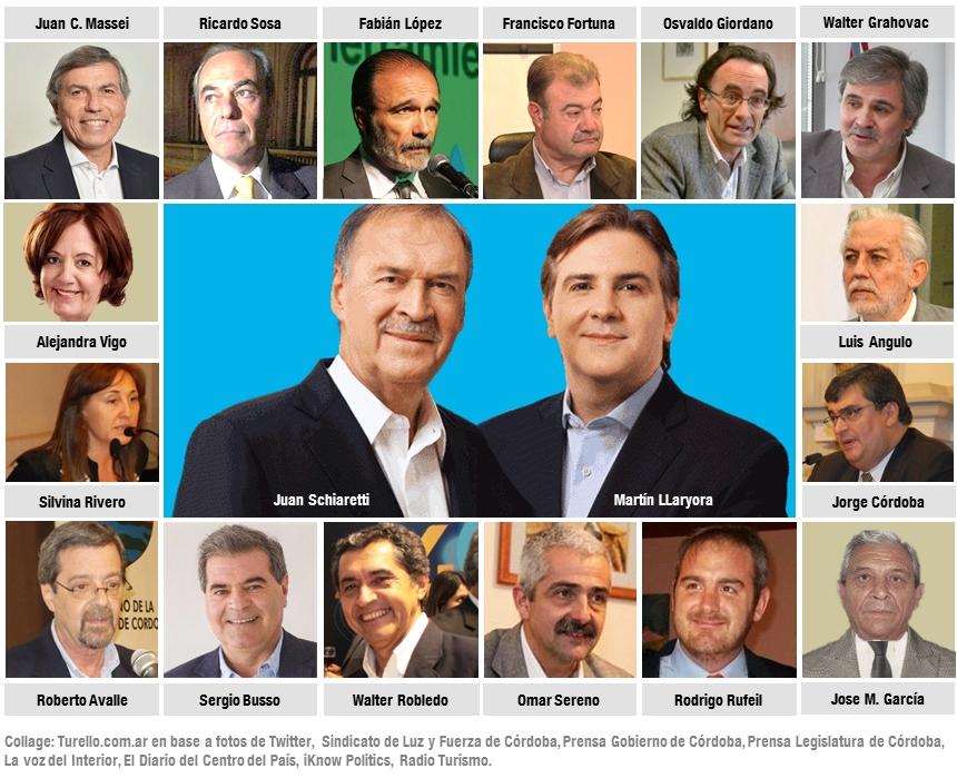 El nuevo gabinete de Juan Schiaretti (Gobierno de Córdoba 2015-2019)