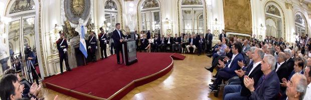 Macri anunció cambios en Ganancias y en Asignaciones Familiares | Foto: Presidencia de la Nación.