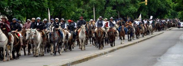 La Cabalgata Brocheriana recorrió 200 kms. desde Córdoba hasta Cura Brochero | Foto: La Voz del Interior