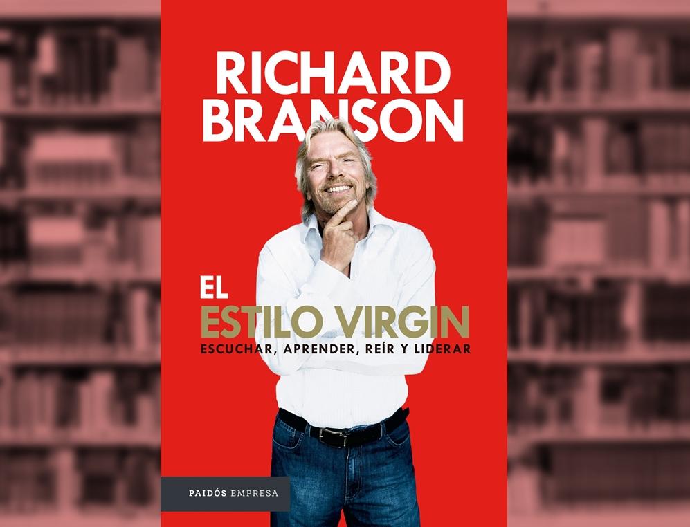 El Estilo Virgin (Virgin Way) por Richard Branson (Editorial Paidós Empresa) | Ilustración: Turello.com.ar en base a imágenes de ElasticComputeFarm (Pixabay.com) y CasadelLibro.com