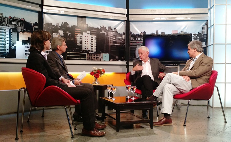 Hugo Juri y Walter Grahovac, en Los Turello, opinaron sobre la educación en Córdoba (Argentina).