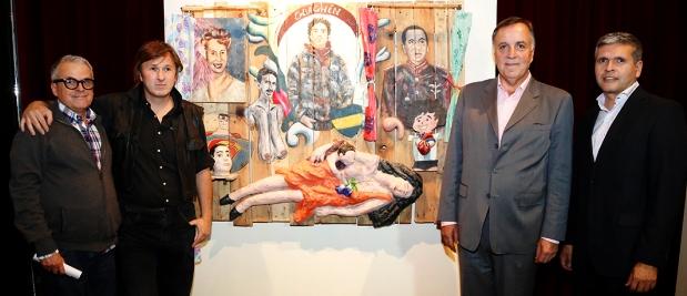 El primer premio de la muestra del 9° Premio Pintura del Banco de Córdoba | Foto: bancor