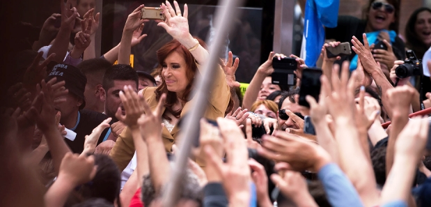 Cristina Kirchner apela a la política en Tribunales | Foto: infobae.com