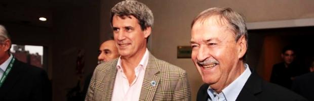 Prat Gay y Schiaretti cerraron, con buena sintonía, la 37ª Convención del IAEF y se refirieron a un posible bono de fin de año | Foto: Gobierno de Córdoba.
