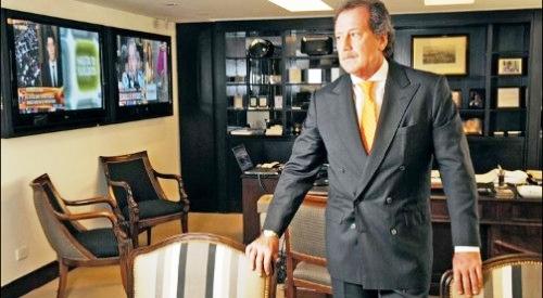 Jorge Brito, titular de Banco Macro. La entidad construirá un nuevo edificio para expandirse en Villa Carlos Paz, entre otros proyectos.