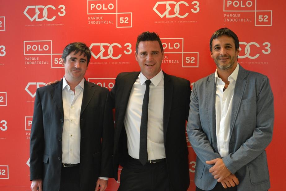 De izquierda a derecha: Diego Contigiani, Cristian Martin y Cristian Cáceres | Foto: DC3.