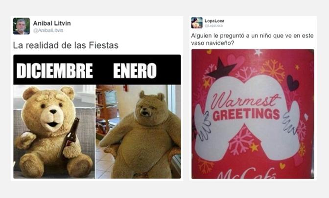 @AnibalLitvin y @LocaLopa le ponen humor a la previa de estas Fiestas | Imágenes: captura de pantalla de Twitter.