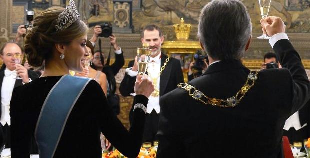 Buena onda. Salvo el episodio de Iñigo Errejón (Podemos), la visita de Macri tuvo buena repercusión en España | Foto: infobae.com