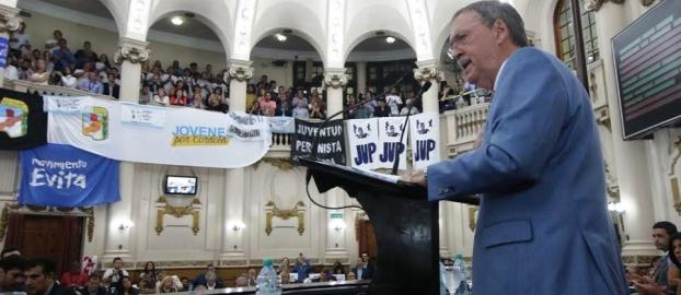 Schiaretti, con fuerte tono político en la Legislatura. Habló de gobernabilidad |Foto: prensa.cba.gov.ar