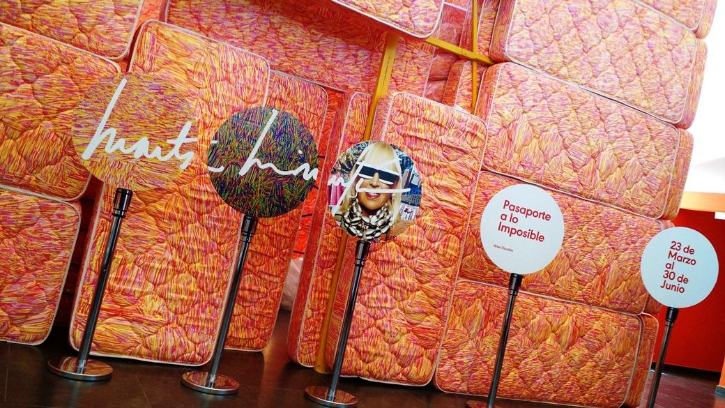 Parte de la muestra de Marta Minujin en Naranja   Foto: Turello.com.ar