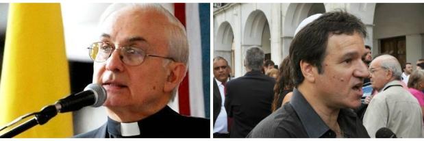 Monseñor Ñáñez y rabino Polakoff, mensaje conciliador para los argentinos en medio de la violencia cotidiana | Imágenes: Turello.com.ar