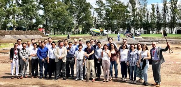 Nissan comenzó la construcción de su planta de pick ups en Santa Isabel, Córdoba | Foto: prensa Nissan
