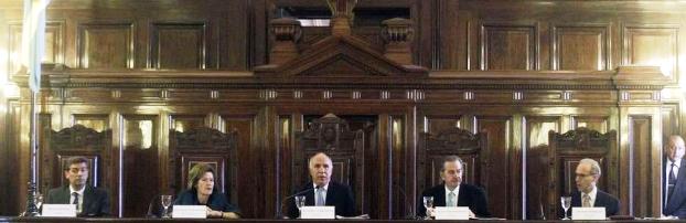 Rosatti y Highton de Nolasco votaron a favor; Lorenzetti y Maqueda, en contra. Rosenkrantz también apoyó el 2x1 | Foto: clarin.com