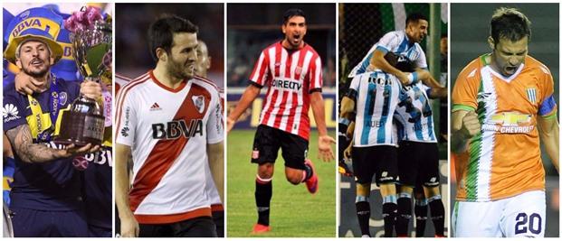 Boca, River, Estudiantes, Racing y Banfield ya sacaron sus boletos directo a la Libertadores | Foto: Turello.com.ar