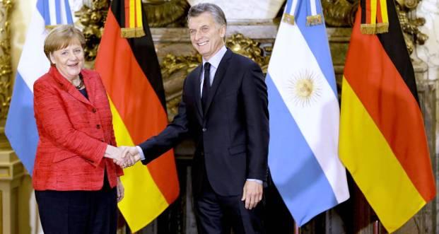 La canciller alemana Angela Merkel, la última visita destacada. Argentina será sede del G-20 en 2018 | Foto: elpais.com