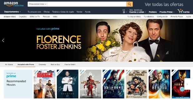 Amazon Prime otro portal de series y películas online que amenaza el liderazgo de Netflix.