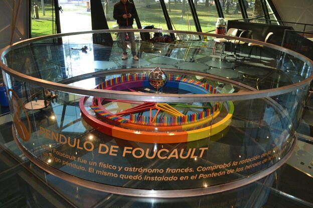Péndulo de Foucault en Córdoba | Foto: Gobierno de Córdoba.