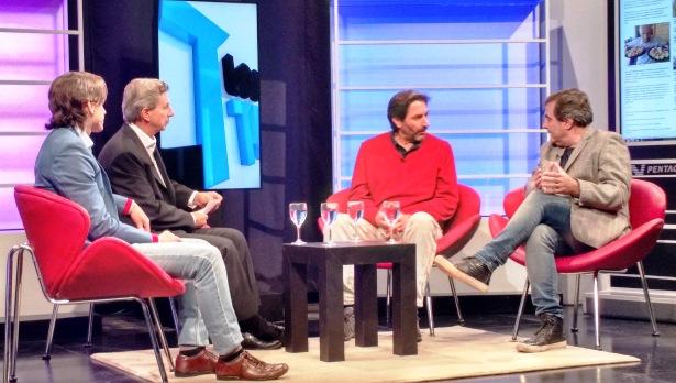 Debate entre Pablo Carro y Beto Beltrán en Los Turello.