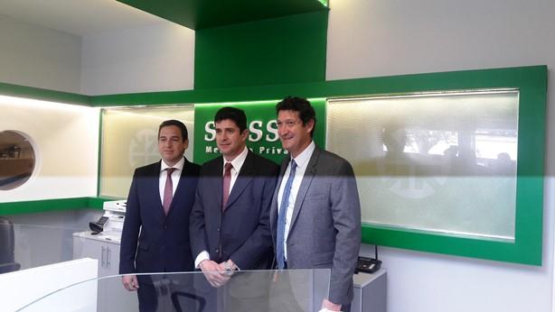 Directivos del Grupo Allende y SIPSSA en Villa María.