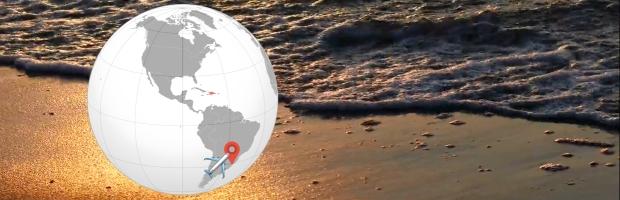 Brasil el destino preferido de los argentinos para sus vacaciones de verano | Imágenes: Pixabay, WP, Wikipedia, Icon-Icons.