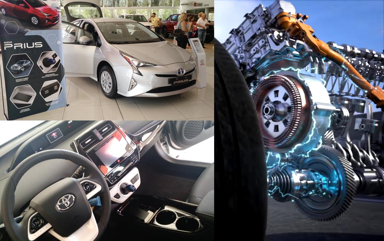Exterior e Interior de Prius, el auto híbrido de Toyota | Fotos: Turello.com.ar | Imagen: Youtube.