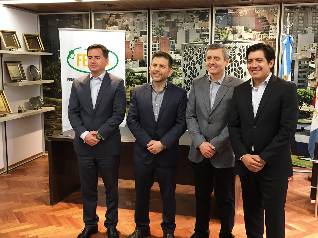 Gabriel Bornoroni, Gastón Utrera, Pablo Bornoroni, Gonzalo Roca | Foto: FECAC.