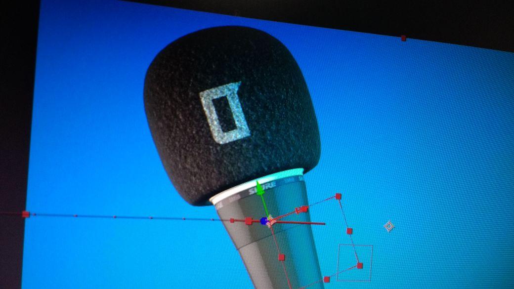 Ejemplo del elemento visual 3D como recurso en la animación de uno de los separadores de Los Turello | Imagen: Trece Disparos.