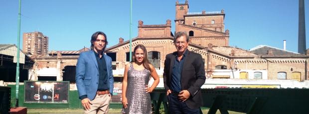 Sebastián, Nicole y Juan Turello, conductores de Los Turello Plus, abordaron las desafiantes historias de las empresas familiares.