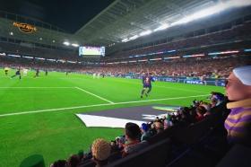 Ya se pueden vivir los partidos del Mundial de forma virtual | Imagen: captura del canal Oculus en Youtube.