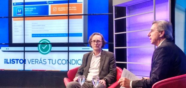 Osvaldo Giordano, ministro de Finanzas, explicó el Monotributo Unificado Córdoba en Los Turello.