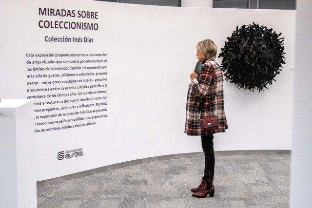La colección de Inés Díaz estará exhibida hasta el 21 de Septiembre en el espacio de Arte de Fundación Osde Córdoba.
