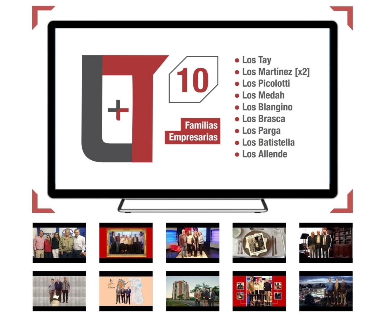 Empresas Familiares - Las primeras 10 empresas familiares que pasaron por Los Turello Plus.