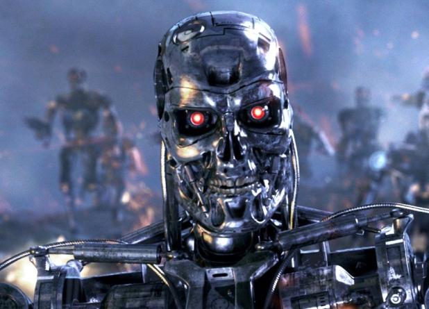 Terminator una película de ciencia de ficción con robots dotados de Inteligencia Artificial | Imagen: publicada en nafilmu.cz