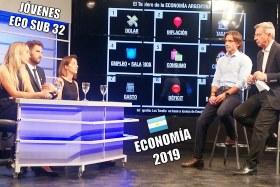Virginia Giordano, Gonzalo Agusto y Florencia Costantino opinan sobre la economía argentina 2019 en Los Turello.